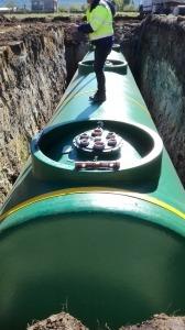 Proyecto técnico de colocación de depósito de combustible enterrado para gasocentro