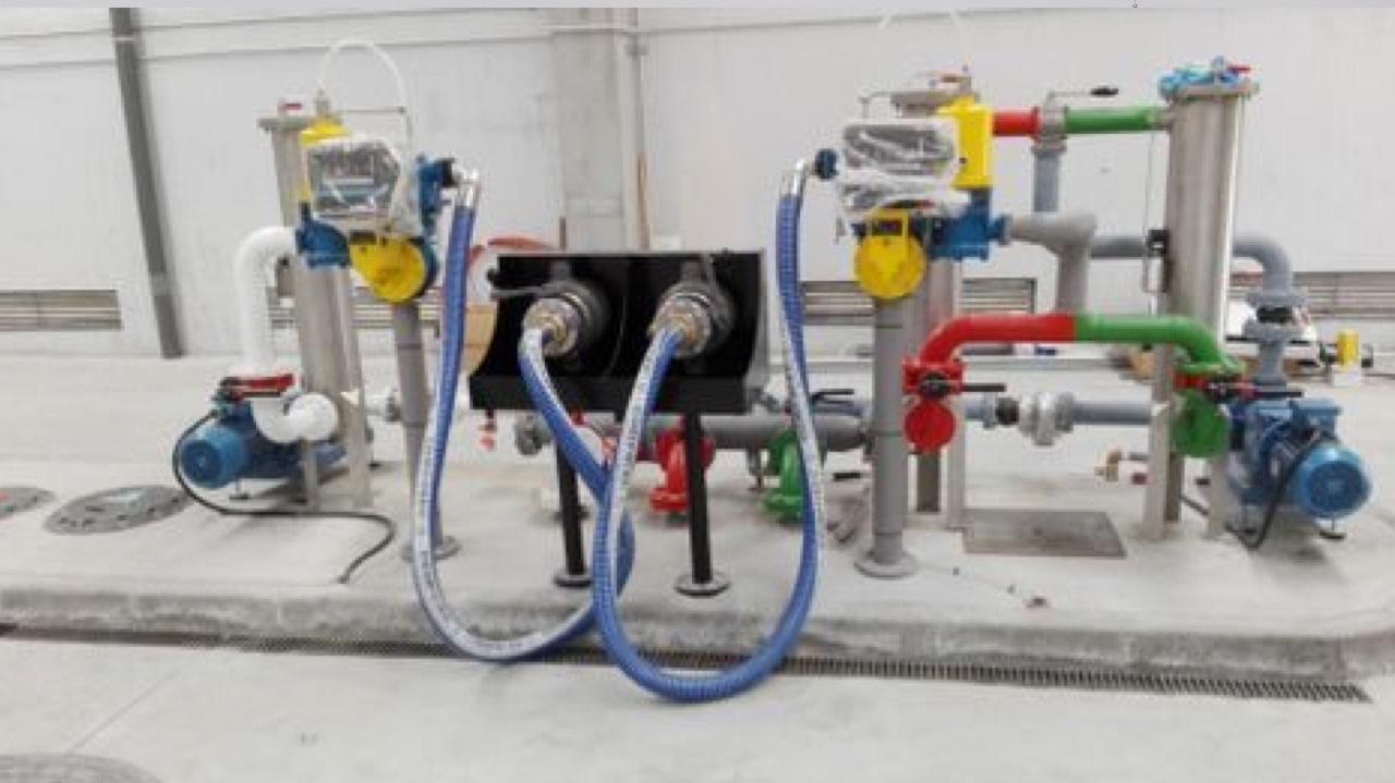 Proyecto técnico de Instalación de gasocentro con bombas y tuberías de impulsión