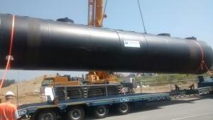Proyecto de depósito de combustible antes de colocarlo