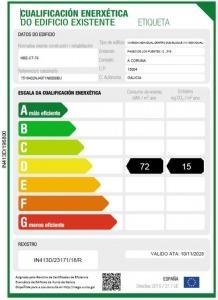 certificado energético en Galicia