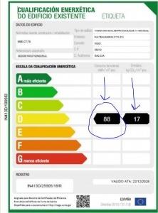 etiqueta energética explicación